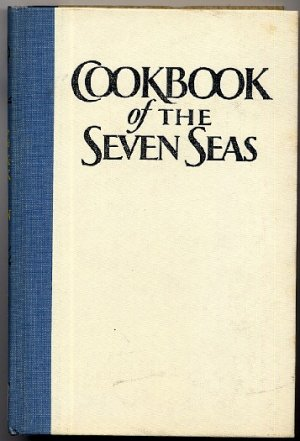 Dagmar Freuchen Cookbook of the Seven Seas hardcover vintage 1968