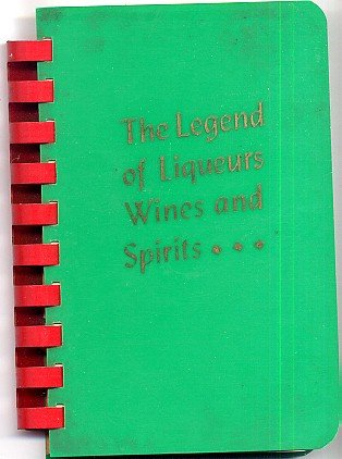 Legend of Liqueurs Wines and Spirits Vintage 1930s Bartenders Guide Ginrum Alpha Co 1938