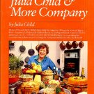 Julia Child & More Company Vintage 1979 Cookbook Softcover First Edition