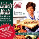 Lickety Split Meals for Health Conscious People on the Go Zonya Foco Cookbook 1st ed