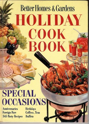 Better homes and gardens holiday cook book vintage 1959 - Vintage better homes and gardens cookbook ...