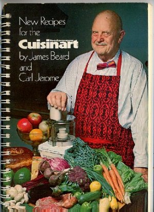 New Recipes for the Cuisinart Food Processor James Beard Carl Jerome spiral softcover cookbook