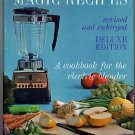 Mary Meade's Magic Recipes Cookbook for Electric Blender, 1965 Deluxe Edition, hc+dj