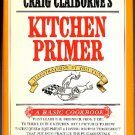 Craig Claiborne's Kitchen Primer 1969 vintage cookbook beginners hc+dj 1st ed 2nd prtg