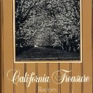 California Treasures Junior League Cookbook Fresno vintage 1985 fundraising cook book  hc+dj