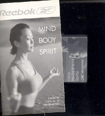 Reebok Pilates Instructional Video VHS + Mind Body Spirit 21-pg Guide Book