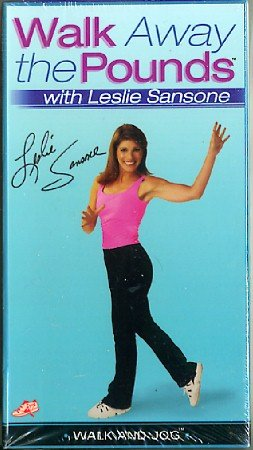 Walk Away the Pounds Walk and Jog Leslie Sansone VHS Exercise Video NEW