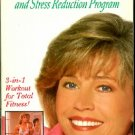 Jane Fonda&#39;s Light Aerobics & Stress Reduction Stretch Relaxation Exercise Video VHS