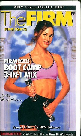 FIRM Parts Boot Camp 3-in-1 Mix Exercise Video Tape VHS Clamshell