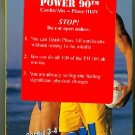 Power 90 Sweat! Cardio 3-4 Boot Camp Exercise Video VHS New