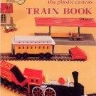 The Plastic Canvas Train Book O Gauge Toy Model Railroad Needlework Craft Pattern