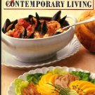 Gourmet's Menus for Contemporary Living Cookbook 1985 hc+dj