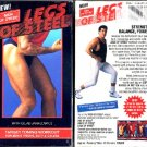 Men of Steel Legs of Steel Target Toning Workout Video VHS Exercise Tape NEW