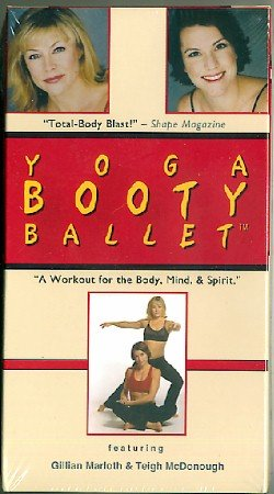 Yoga Booty Ballet Workout for Body Mind & Spirit Exercise Video VHS NEW