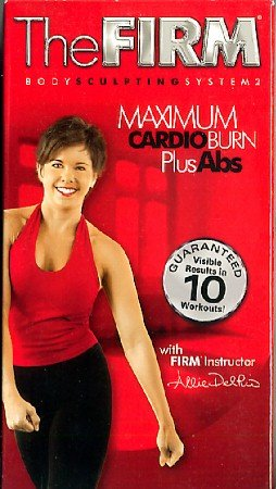 FIRM Maximum Cardio Burn Plus Abs Body Sculpting System 2 Exercise Workout VHS Video Tape