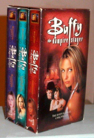 Buffy the Vampire Slayer Season 2 TV Series Buffy & Angel Chronicles Video Pack Set VHS