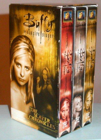 Buffy the Vampire Slayer Season 3 TV Series Slayer Chronicles Boxed Video Set VHS