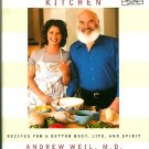 The Healthy Kitchen Cookbook Andrew Weil Rosie Daley 1st ed hc+dj