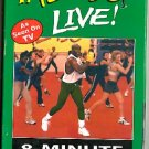 Tae-Bo Live 8-Minute Workout Billy Blanks Tae Bo Kickboxing Aerobic Exercise Video VHS