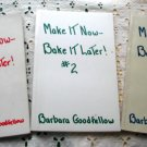 Make It Now - Bake It Later #1, #2, and #3 Vintage 1958-1964 Cookbook Trio Goodfellow