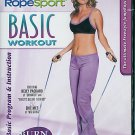 RopeSport Basic Workout Jump Rope Aerobic Exercise Video NEW DVD