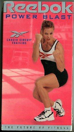 Reebok Power Blast Cardio Circuit Training Exercise Video Tape VHS