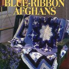 Herrschners Blue-Ribbon Afghans 48 Crochet (and Knit) Patterns 1998 Oxmoor hardcover book