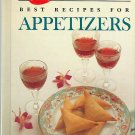 Betty Crocker Best Recipes for Appetizers (Red Spoon Collection) 1989 cookbook 100+ recipes