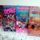 Sweating to the Oldies 1, 2, 3, and 4 Richard Simmons Exercise Video 4 VHS Set