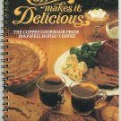 Coffee Makes It Delicious Maxwell House Cookbook Vintage 1981
