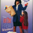 Working Mom On the Run with Debbie Nigro - Any Time, Any Where Workout Exercise Video VHS
