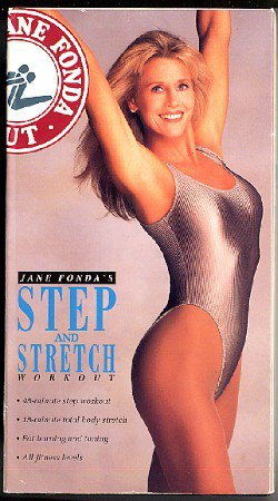 Jane Fonda Step and Stretch Aerobic Workout Exercise Video ...