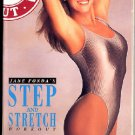 Jane Fonda Step and Stretch Aerobic Workout Exercise Video VHS Tape