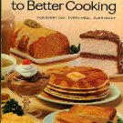 Blender Way to Better Cooking Vintage 60s Cookbook