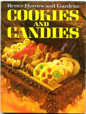 Better Homes And Gardens Cookies And Candies Vintage 1968 Cookbook Hc
