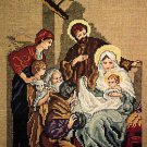 Silent Night Holy Night Leisure Arts 888 Christmas Manger Scene Cross Stitch Chart