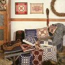 Colonial Coverlets for Cross-Stitch or Long Stitch Bee Gee Designs Authentic Weaving Patterns