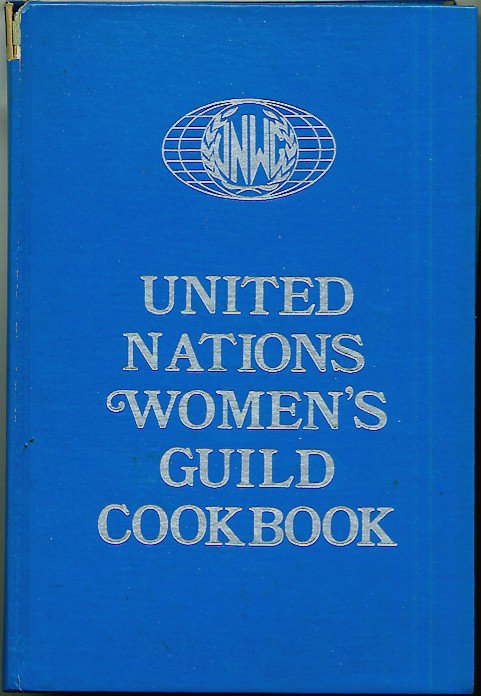United Nations Womens Guild Cookbook Vintage International Recipes