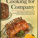 Cooking for Company Farm Journal Vintage 1968 Cookbook Special Occasion Recipes