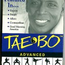 Tae Bo Advanced Workout VHS Billy Blanks Exercise Video Tape