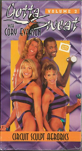 Gotta Sweat with Cory Everson Volume 2 Circuit Sculpt Aerobics VHS Workout Video NEW