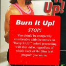 Burn it Up Slim in 6 Phase 3 Debbie Siebers BeachBody Exercise Video VHS Tape NEW