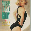 Kathy Smith Secrets of a Great Body Vol 2 Lower Body Workout Muscle Toning VHS Exercise Video Tape