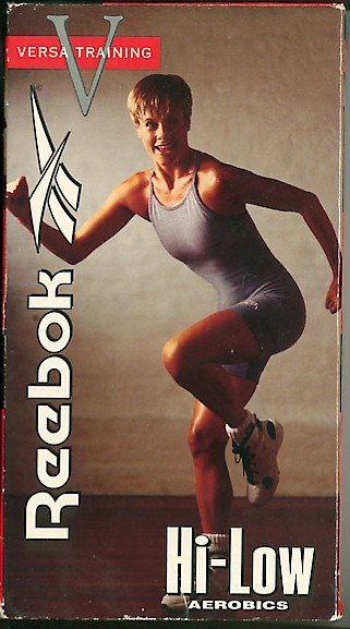 Reebok Versa Training Hi-Low Aerobics Exercise Video VHS Tape