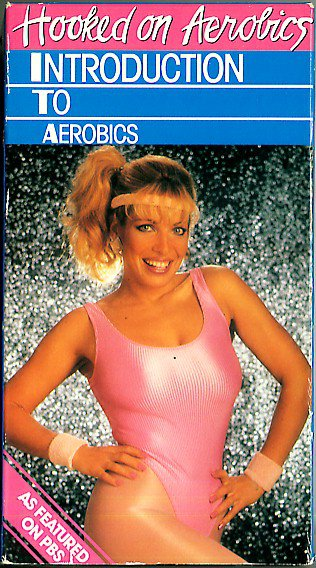 Hooked on Aerobics Introduction Cardiovascular Exercise Workout Video VHS Tape