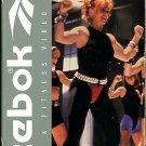 Reebok Step Power Workout Gin Miller VHS Exercise Video Tape