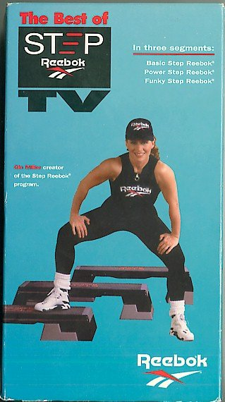 3a55ed051b3 Best of Step Reebok TV Gin Miller Aerobic Workout Exercise Video Tape VHS