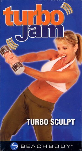 Turbo Jam Turbo Sculpt Beachbody Muscle Toning Workout Exercise Video VHS New