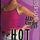 Hot Steps Kari Anderson ALL Cardio Step, VHS, Aerobic Exercise Video Intermediate Advanced