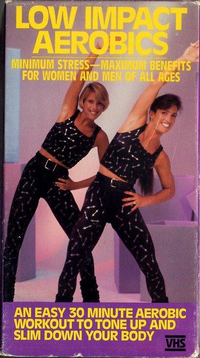details about jane fonda low impact aerobic workout vhs video hot girls wallpaper. Black Bedroom Furniture Sets. Home Design Ideas